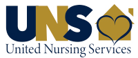 Image result for united nursing services logo